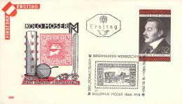 Österreich  1968 - 1969   25 FDC's - FDC