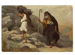 A 18648   -   6 Cartes  -  L'Histoire Sainte  - Scènes De L'Ancien Testament D'après Les Toiles De Rob . Leinweber - Non Classés