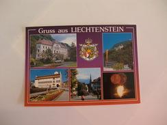 Postcard Postal Gruss Aus Liechtenstein - Liechtenstein