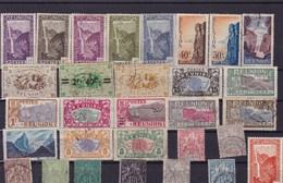 REUNION : Y&T : Lot De 30 Timbres Oblitérés - Reunion Island (1852-1975)