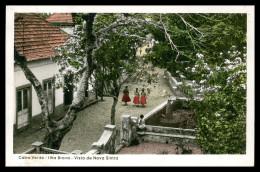 BRAVA - Vista De Nova Sintra ( Ed. Casa Leão Nº 10)  Carte Postale - Cap Vert
