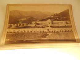 B665 Foto Cartonata Cm16,5x10,5  Ricordo Di Genova Staglieno - Fotografia