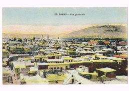 Damas - Vue Générale - 1927 - Damascus - دمشق - Syrie