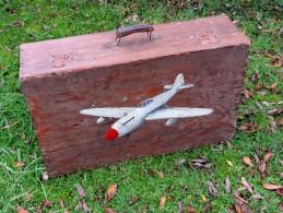 JOLIE ANCIENNE VALISE PILOTE U.S. AIR FORCE à Voir .......... - Equipement