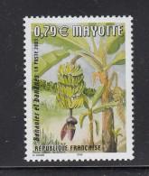 2003 Mayotte Banana Banane Tree Complete Set Of 1  MNH - Obst & Früchte