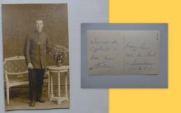 Guerre 14-18, Meurchin (62) Trédez Louis, Rue Du Pont, Prisonnier à Wackerdorf, Allemagne  ; Ref 063 CP 12 - Guerre 1914-18