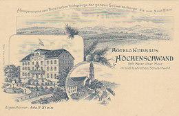 Hotel Höchenschwand - Vorläufer-Litho     (PA-4-100418) - Germania