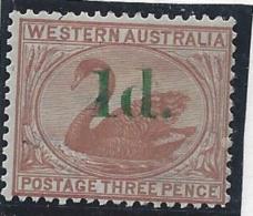 Australie Occidentale - N° 27 * - Neuf Avec Charnière - 1854-1912 Western Australia