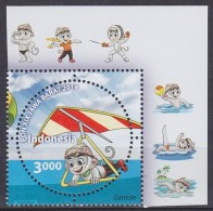 2016 INDONÉSIE Indonesia PON XIX Java Barat   ** MNH Water Polo  Wasserball Waterpolo [DY78]