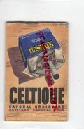 TABAC - CARNET NOTES - CIGARETTES ANIC -ILLUSTRATEUR DRANSY- CELTIQUE MARYLAND- PAR CASSANDRE 1935-CIGARE VOLTIGEURS - 1900 – 1949