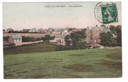 14 Vierville Sur Mer Vue Generale Cachet Molay Littry 1908 - France
