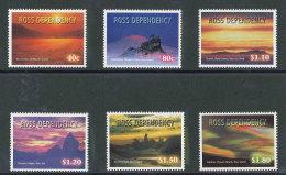 ROSS DEPENDENCY - 1999 - YT 66/71  NEUFS **/ MNH - Série Complète 6 Valeurs - Couchers De Soleil Sur L´île - Neufs
