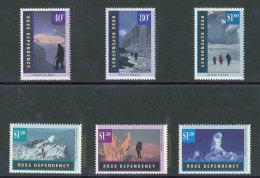 ROSS DEPENDENCY - 1996 - YT 44/49  NEUFS **/ MNH - Série Complète 6 Valeurs - Paysages Antarctiques - Neufs