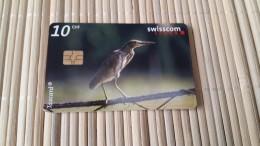 Phonecard Zwitserland Bird 10 CHF  Used Rare - Switzerland