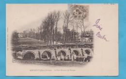 AIRVAULT (79) PONT ROMAN DE VERNAY CPA 1902 PHOTOS R/V - Airvault