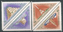 Qu'aiti State Hadhramaut - 1968 - Wonders Of The World From Antiquity And Present ( 4 Val ) - MI 194A#197A - Jemen