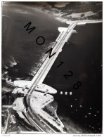 SAINT MALO - BARRAGE DE LA RANCE AOUT 1974 - PHOTO ORIGINALE PHOTOGRAPHE BRIGAUD - DIM 24X31 CMS - Luoghi