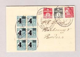 Dänemark Köbenhavn 1935 Sonderstempel Auf AK Motiv Postpakete Lieferung Mit Motorad. - 1913-47 (Christian X)