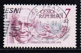 Tschechische Republik 1995, Michel# 66 O Přemysl Pitter - Gebraucht