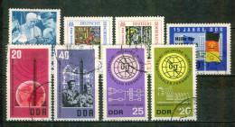 N. Kroutchev - Foire De Leipzig - ALLEMAGNE DE L'EST - N° 723-755-756-813-814-815-816-829 - 1965 - Usados