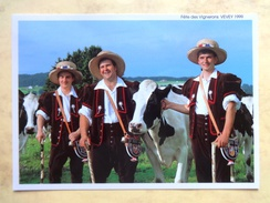 """Fête Des Vignerons Vevey 1999, Les Armaillis """"Les Solistes"""" - VD Vaud"""