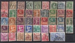 Suisse  Lot De 43 Timbres Avant 1940 - Suisse