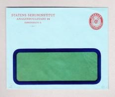 """Dänemark 15 Öre Ganzsachen Fensterbrief Ungebraucht """"Statens Seruminstitut"""" - Postal Stationery"""