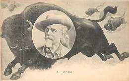 PCOL W.F CODY BUFFALO BILL ET LES BISONS - Celebrità