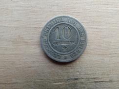Belgique  10  Centimes  1862  Km 22 - 1831-1865: Léopold I