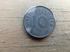Allemagne  10  Reichspfennig  1943 D  Km 101