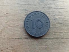 Allemagne  10  Reichspfennig  1942 F   Km 101