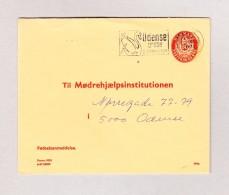 Dänemark 60 Öre Dienst Ganzsachen Brief Odense 2.10.1970 - Entiers Postaux