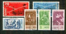 Cartes D'oléoducs, Derricks, Pétrole - ALLEMAGNE DE L'EST - Tableaux De Rubens - N° 918-919-983-984-985-986 - 1967 - Usados