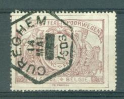 "BELGIE - OBP Nr TR 26 - Cachet  ""CUREGHEM""  (ref. AD-7543) - 1895-1913"