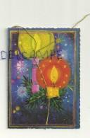 Etiquette Double Cadeaux. Deux Bougies. 5/7 Cm - Cartes Cadeaux