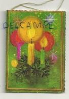 Etiquette Double Cadeaux. Trois Bougies. 5/7 Cm - Cartes Cadeaux