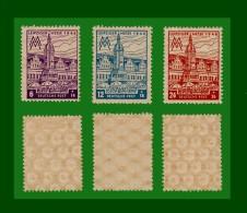 """SOWJETISCHE ZONE SBZ 1946 Mi.-Nr. 162  - 164 Postfrisch  Mi € 3,60 """"Leipziger Messe"""" (SBZ57) - Soviet Zone"""