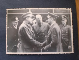 Original-Vintage-Fotografie Von Adolf Hitler - Original Vintage Photograph Of Adolf Hitler Deutschland -Germany - Oorlog, Militair