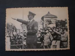 Original-Vintage-Fotografie Von Adolf Hitler - Original Vintage Photograph Of Adolf Hitler Deutschland -Germany - War, Military