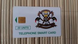 Oeganda Phonecard 20 Units Used Rare