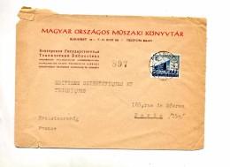 Lettre Cachet Budaprst Sur Kilian - Postmark Collection