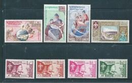 Colonie Timbre Du Laos De 1958/59   N°51 A 58  Neufs Petite  Trace  De  Charnière - Laos