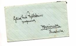 Lettre Cachet Zagreb Sur Moisson ? - 1945-1992 République Fédérative Populaire De Yougoslavie