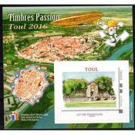 Bloc FFAP Passion Du Timbre Toul 2016 - Sheetlets
