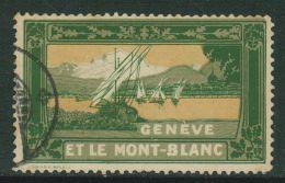 Suisse // Schweiz// Switzerland// Vignette // Genève Et Le Mont-Blanc - Errors & Oddities