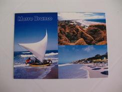 Postcard Postal Brasil Fortaleza Ceara Praia Do Morro Branco - Fortaleza