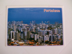 Postcard Postal Brasil Fortaleza Vista Aérea Do Bairro Aldeota - Fortaleza