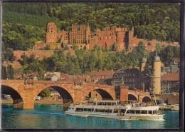 Heidelberg - Sommertag In Heidelberg 1   Alte Brücke Und Schloss - Heidelberg