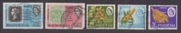 Lot De 19 Timbres Oblitérés  De RHODESIE Du Sud  (T11) - Southern Rhodesia (...-1964)
