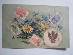 Carte Postale Representation Timbres - Brun Antonin Tailleur De Limes à RAVEAU 1905 - Timbres (représentations)